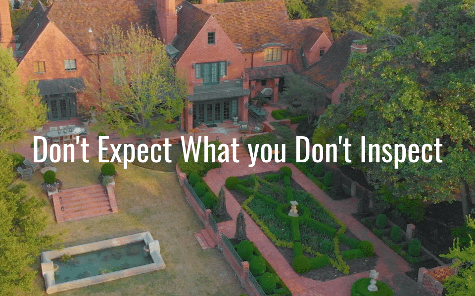 M.M. Moore Construction Company: Don't Expect What you Don't Inspect