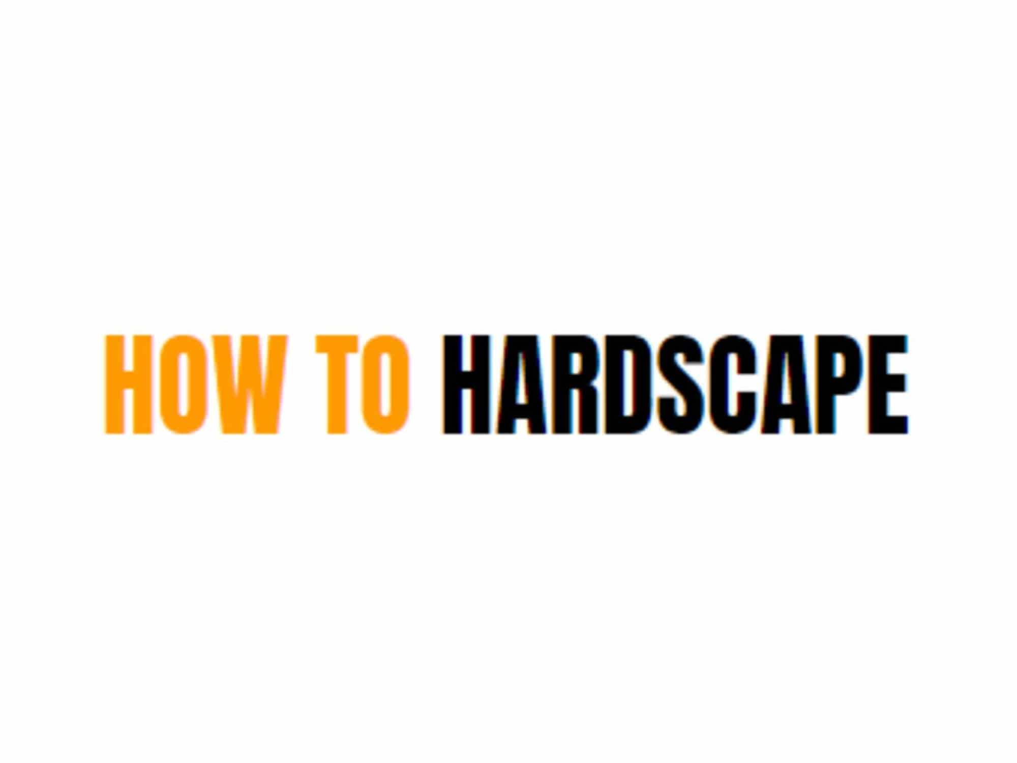 how-to-hardscape