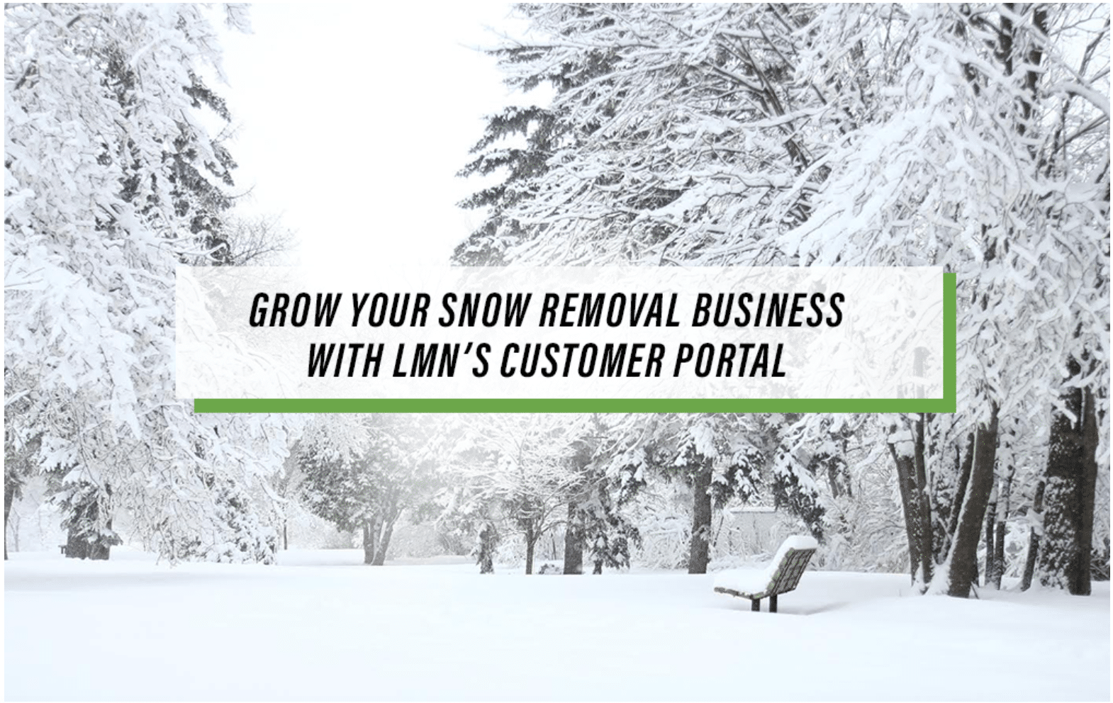 customer portal for snow removal business