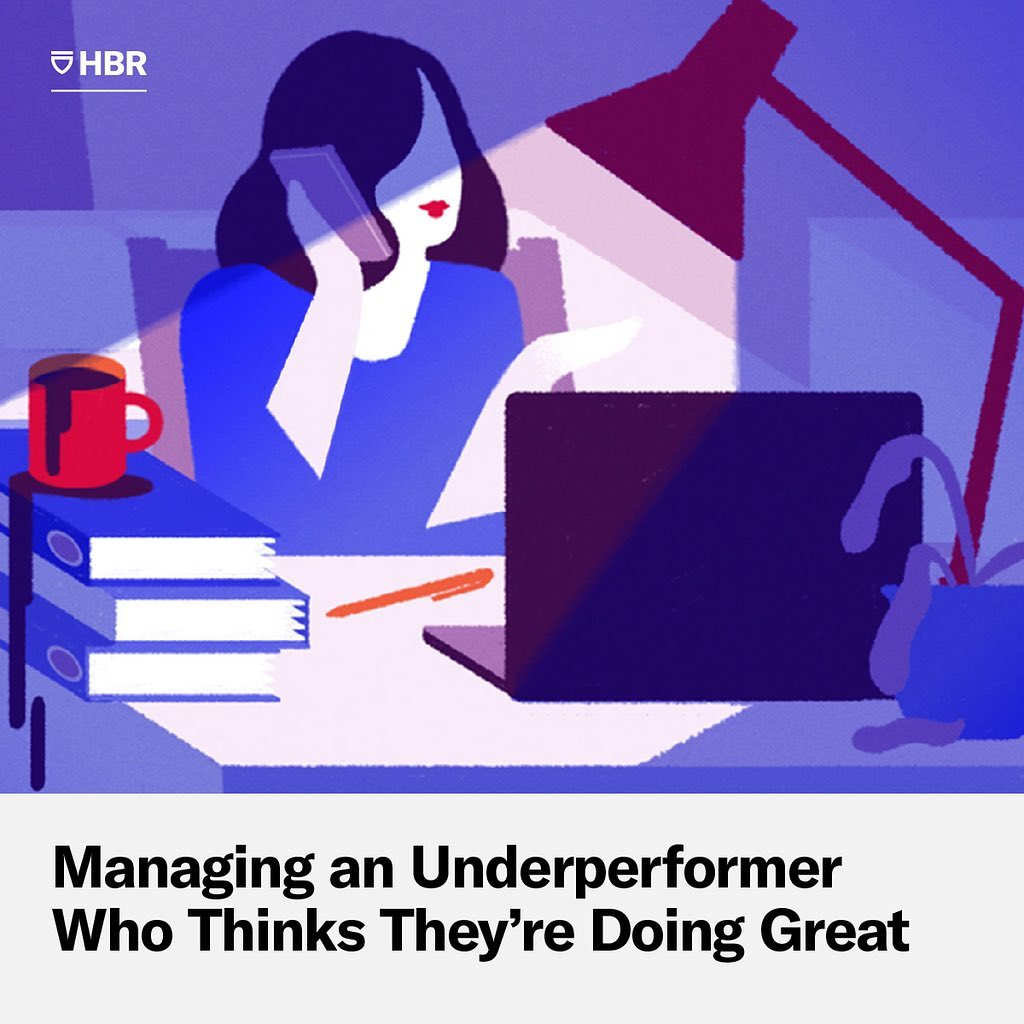 A HBR piece on managing inattentive underperformers