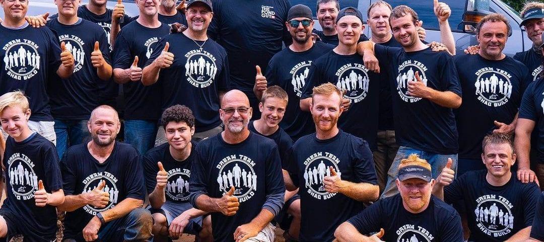 The Aquascape Dream Team featuring basketball legend Shaquille O'Neal