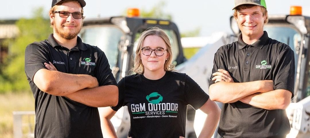 The executive team of G&M Outdoor Services.